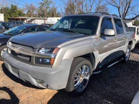 2002 Chevrolet Avalanche for sale at Harley's Auto Sales in North Augusta SC