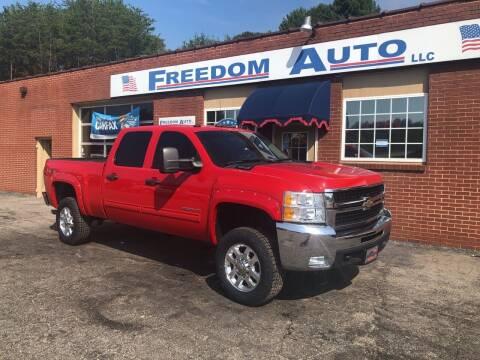 2010 Chevrolet Silverado 2500HD for sale at FREEDOM AUTO LLC in Wilkesboro NC