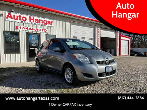 2010 Toyota Yaris for sale at Auto Hangar in Azle TX