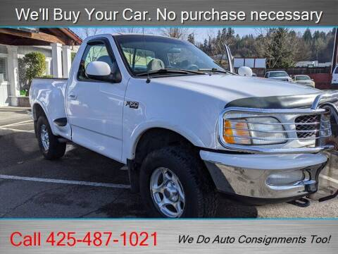1997 Ford F-150 for sale at Platinum Autos in Woodinville WA