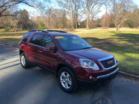 2009 GMC Acadia for sale at Bull City Auto Sales and Finance in Durham NC