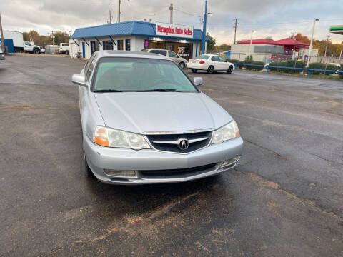 2002 Acura TL for sale at Memphis Auto Sales in Memphis TN
