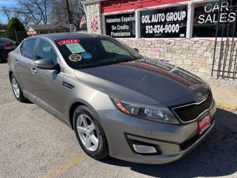 2014 Kia Optima for sale at GOL Auto Group in Austin TX