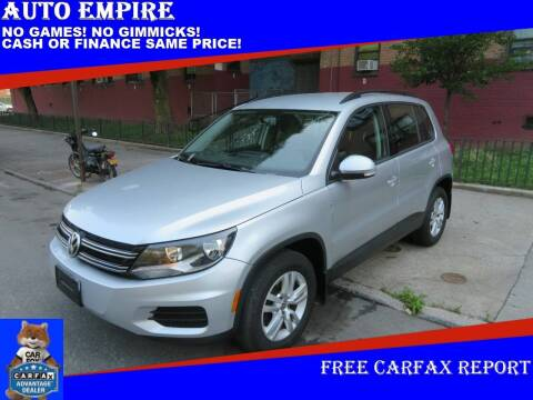2015 Volkswagen Tiguan for sale at Auto Empire in Brooklyn NY