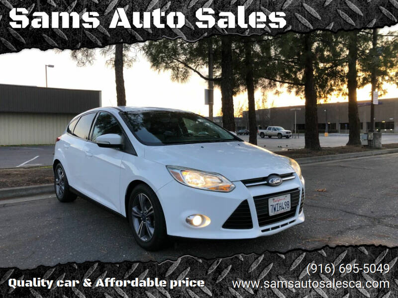2014 Ford Focus for sale at Sams Auto Sales in North Highlands CA