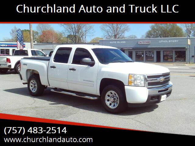 2010 Chevrolet Silverado 1500 for sale at Churchland Auto and Truck LLC in Portsmouth VA