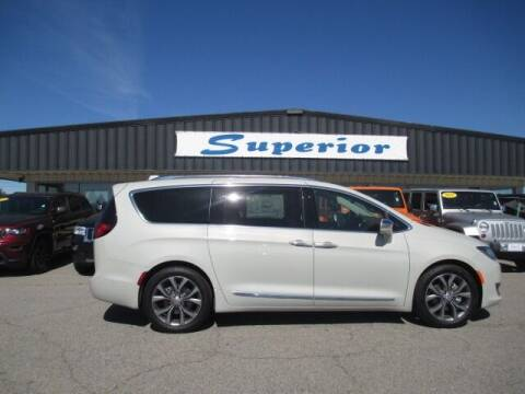 2019 Chrysler Pacifica for sale at SUPERIOR CHRYSLER DODGE JEEP RAM FIAT in Henderson NC