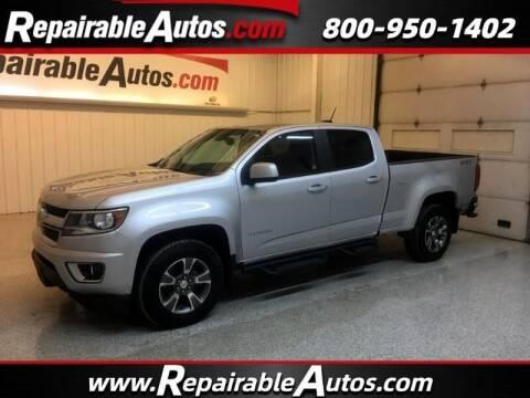 2020 Chevrolet Colorado for sale at Ken's Auto in Strasburg ND