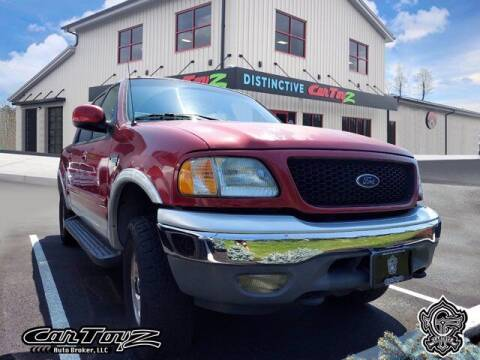 2001 Ford F-150 for sale at Distinctive Car Toyz in Egg Harbor Township NJ