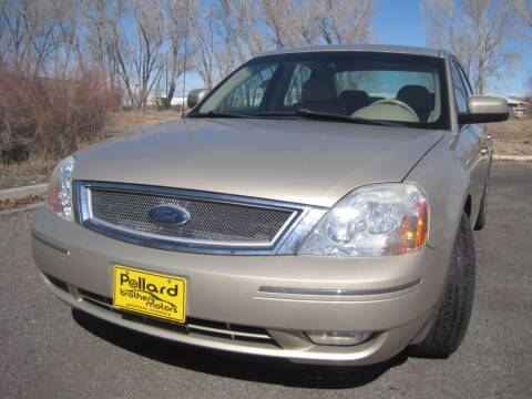 2007 Ford Five Hundred for sale at Pollard Brothers Motors in Montrose CO