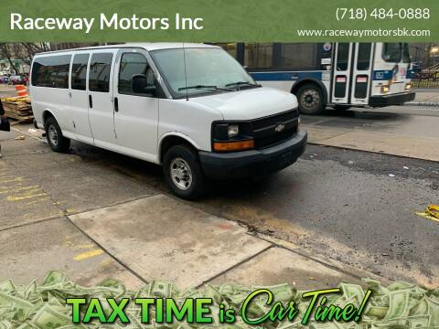2009 Chevrolet Express Passenger for sale at Raceway Motors Inc in Brooklyn NY