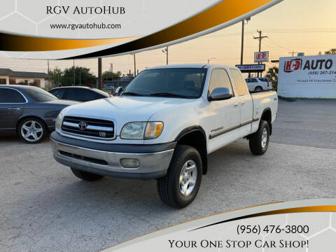 2001 Toyota Tundra for sale at RGV AutoHub in Harlingen TX