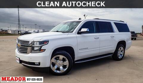 2015 Chevrolet Suburban for sale at Meador Dodge Chrysler Jeep RAM in Fort Worth TX