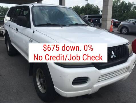 2002 Mitsubishi Montero Sport for sale at D & J AUTO EXCHANGE in Columbus IN