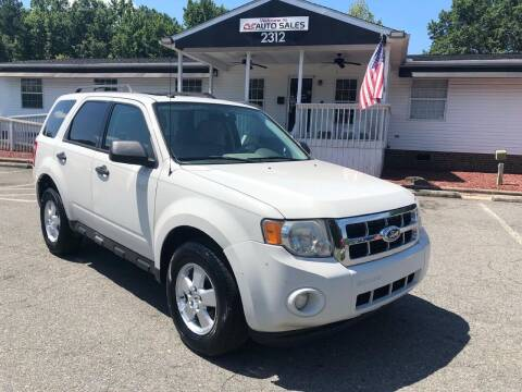 2011 Ford Escape for sale at CVC AUTO SALES in Durham NC