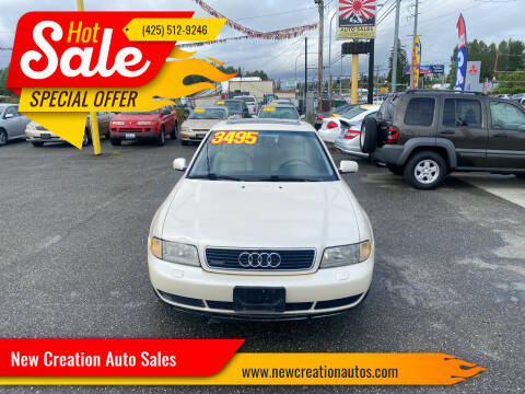 1997 Audi A4 for sale at New Creation Auto Sales in Everett WA