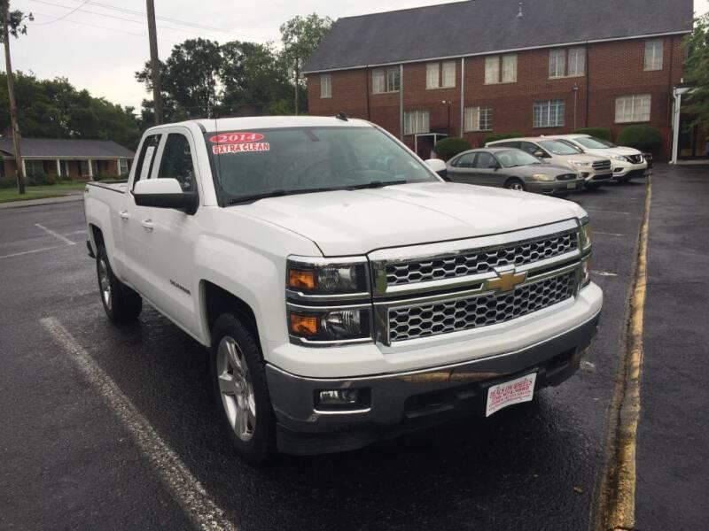 2014 Chevrolet Silverado 1500 for sale at DEALS ON WHEELS in Moulton AL