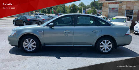2008 Ford Taurus for sale at Autoville in Kannapolis NC