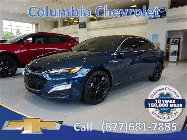 2021 Chevrolet Malibu for sale at COLUMBIA CHEVROLET in Cincinnati OH