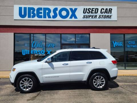 2015 Jeep Grand Cherokee for sale at Ubersox Used Car Superstore in Monroe WI