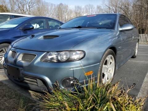 2006 Pontiac GTO for sale at Impex Auto Sales in Greensboro NC