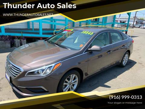 2016 Hyundai Sonata for sale at Thunder Auto Sales in Sacramento CA