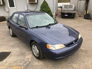2000 Toyota Corolla for sale at WELLER BUDGET LOT in Grand Rapids MI