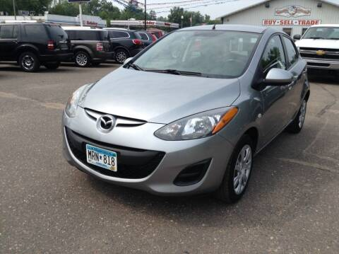 2013 Mazda MAZDA2 for sale at Steves Auto Sales in Cambridge MN