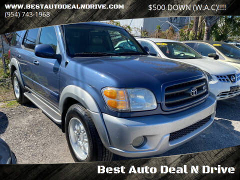 2004 Toyota Sequoia for sale at Best Auto Deal N Drive in Hollywood FL
