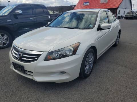 2011 Honda Accord for sale at Mulligan's Auto Exchange LLC in Paxinos PA