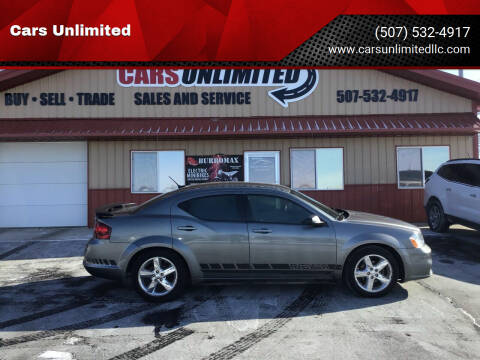 2012 Dodge Avenger for sale at Cars Unlimited in Marshall MN