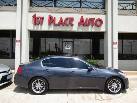 2011 Infiniti G37 Sedan for sale at First Place Auto Ctr Inc in Watauga TX
