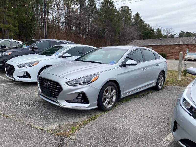 2018 Hyundai Sonata for sale at Assistive Automotive Center in Durham NC