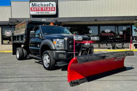 2016 Ford F-550 Super Duty for sale at Michaels Auto Plaza in East Greenbush NY