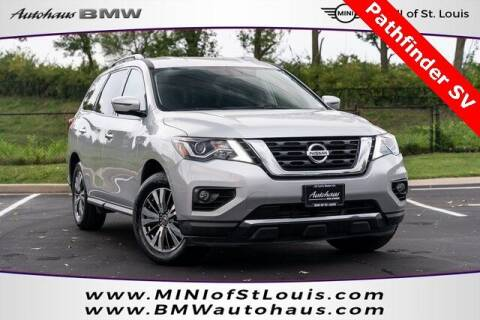 2020 Nissan Pathfinder for sale at Autohaus Group of St. Louis MO - 40 Sunnen Drive Lot in Saint Louis MO
