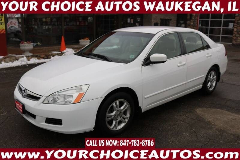 2006 Honda Accord for sale at Your Choice Autos - Waukegan in Waukegan IL