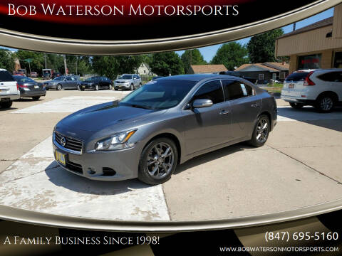 2014 Nissan Maxima for sale at Bob Waterson Motorsports in South Elgin IL