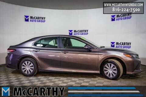 2018 Toyota Camry Hybrid for sale at Mr. KC Cars - McCarthy Hyundai in Blue Springs MO