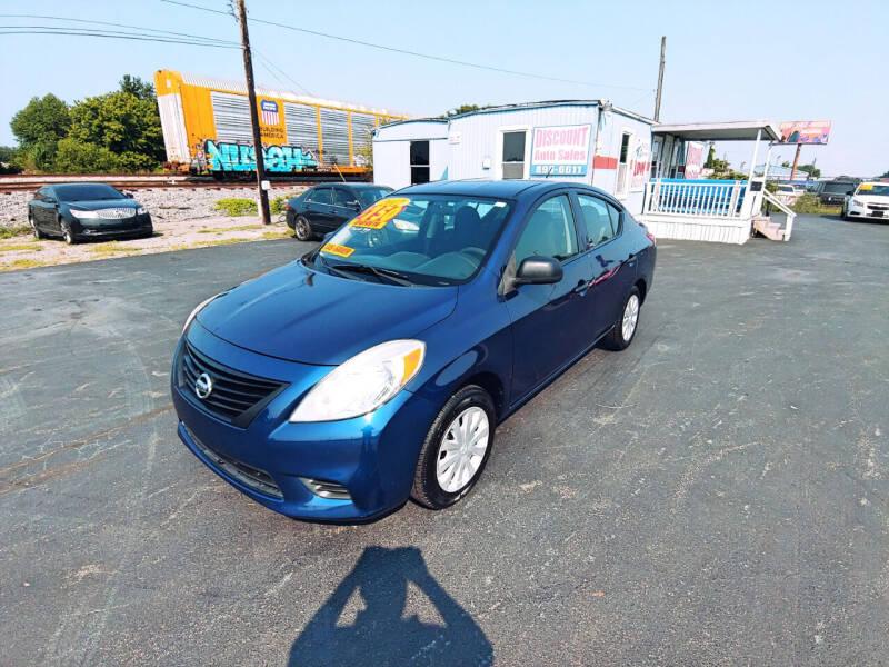 2012 Nissan Versa for sale at DISCOUNT AUTO SALES in Murfreesboro TN