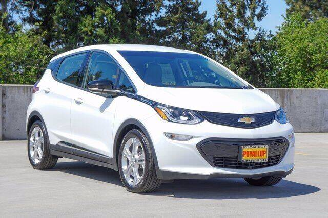 2021 Chevrolet Bolt EV for sale at Washington Auto Credit in Puyallup WA