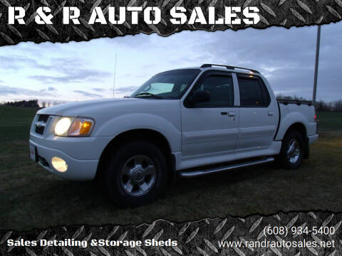 2005 Ford Explorer Sport Trac for sale at R & R AUTO SALES in Juda WI