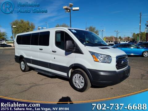 2015 Ford Transit Passenger for sale at Reliable Auto Sales in Las Vegas NV