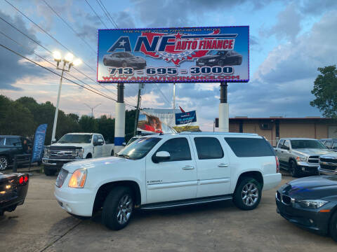 2008 GMC Yukon XL for sale at ANF AUTO FINANCE in Houston TX