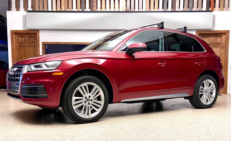 2018 Audi Q5 for sale at EuroMotors LLC in Lee MA