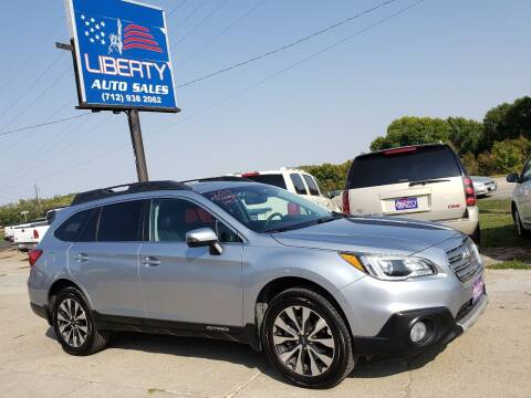 2017 Subaru Outback for sale at Liberty Auto Sales in Merrill IA