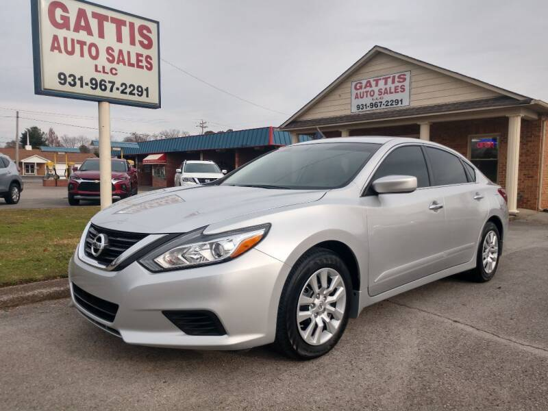 2018 Nissan Altima for sale at Gattis Auto Sales LLC in Winchester TN