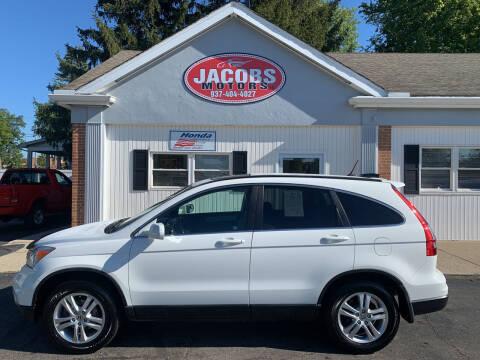 2011 Honda CR-V for sale at Jacobs Motors LLC in Bellefontaine OH