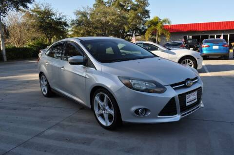 2012 Ford Focus for sale at STEPANEK'S AUTO SALES & SERVICE INC. in Vero Beach FL