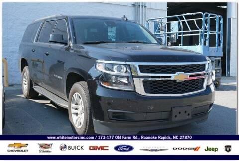2020 Chevrolet Suburban for sale at WHITE MOTORS INC in Roanoke Rapids NC