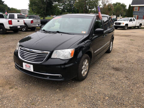 2012 Chrysler Town and Country for sale at Winner's Circle Auto Sales in Tilton NH